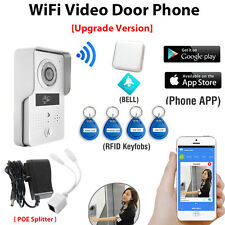 Wireless Wifi 4G Doorbell Camera with Indoor Bell + RFID Keyfobs for free APP