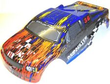 08035 88042 RC 1/10 Scale Monster Truck Body Shell Cover HSP Navy Blue V3 Cut