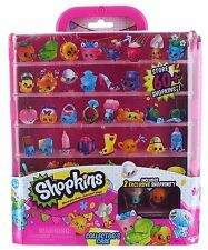Shopkins Collector's Case Pink Stackable w/2 Exclusive Shopkins