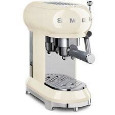 Smeg ECF01CRUK 50's Retro Style Espresso Coffee Machine Cream 2 Year Guarantee