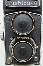 VINTAGE YASHICA -A PHOTOGRAPHY CAMERA Japan COPAL 80MM SHUTTER TLR  C1960 Used