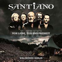 SANTIANO - VON LIEBE,TOD UND FREIHEIT-LIVE  2 CD NEU