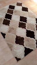 Grey Rug Runner Door Mat Thick Dense Soft Pile 3d Modern Designs 2017 160x230 Harlequin Brown Beige