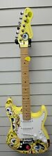 Spongebob Electric Guitar Outfit With Mini Amp & Bag 7/8 Size Solid Body
