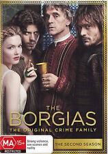 THE BORGIAS Season 2 DVD R4 - PAL