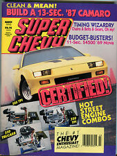 Super Chevy Magazine March 1993 Hot Street Engine Combos EX 012916jhe