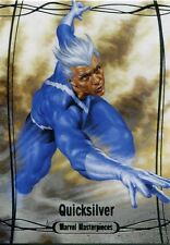 Marvel Masterpieces 2016 Base Card #45 Quicksilver #/ 1499