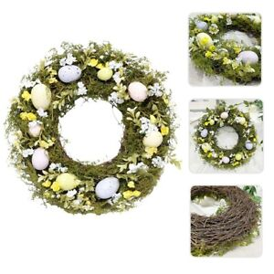 🌹2021 New Easter Artificial Wreath Garland for Hanging Front Door Lounge Decor