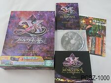 Ys Oath in Felghana Japanese Import Limited Edition + 8CD Box PC Game Windows