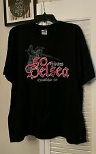 XL 50 Years of DELSEA NEW JERSEY Jousting Knight Pride Old Tyme Black T-shirt