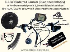 E-Bike Power Umbausatz bis 1500W Vorführbausatz Bausatz für S-Pedelec >45km/h