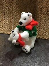 Mrs Prindabells Stuffed Bears Stick Decoration
