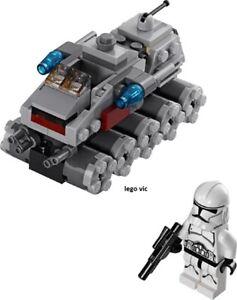 Lego 75028 Star Wars Clone Turbo Tank complet + notice de 2014 - CN278