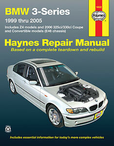BMW 3-Series and Z4 1999-2005 (Includes 2006 325ci/330ci Coupe and Convertible m