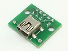 Mini USB Adapter Platine   Mini USB zu RM 2,54   Breakout Board