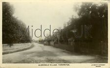 RB353 Early RP POSTCARD The Village of Aldwincle - Thrapston - 1900s