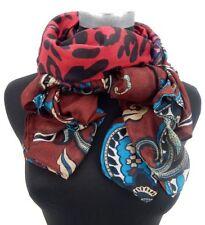 Écharpes et châles rouge à motif Floral pour femme