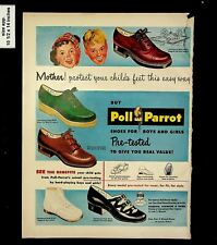 1959 Poll Parrot Shoes For All Vintage Print ad 015606