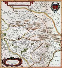 Reproduction carte ancienne - Limousin XVIIè