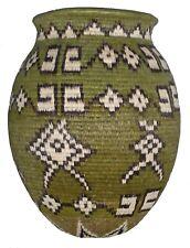 Wounaan Embera Basket Crossroads Trade Fair Eco Natural Colombia Handmade Woven