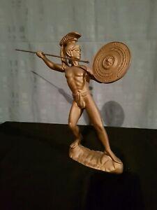 Statue en regule du grec Perseus