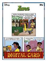 topps collect Disney Tiana Princess Charisma Comic Card 2/5 2020 Season 1