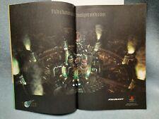 RARE Final Fantasy VII 7 PC PS1 Playstation Game Original Promo Print Ad