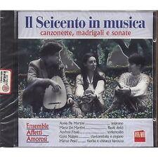 Il seicento in musica - Canzonette madrigali e sonate - ANNA DE MARTINI CD 1998