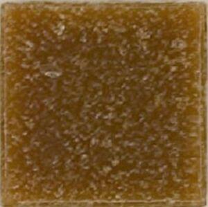 Tan Brown Vitreous Glass Mosaic Tiles -100 Tiles - 3/8 inch