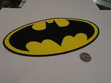 "Batman Joker Large Oval Logo DC Comics SEW/IRON ON EMBROIDERED PATCH NEW 10.5"""