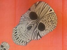 Damas Grande tribal cráneo Cabeza Bufanda/Chal/Envoltura-ligero en 4 Colores!