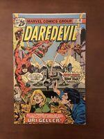 Daredevil #133 (1976) 7.0 FN Marvel Bronze Age Comic 1st App Uri Gelled Jester