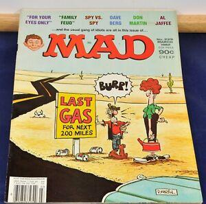 Vintage Mad Magazine, E.C. Pub. - #229, Mar. 1982 $0.90 - EF