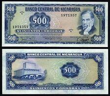 NICARAGUA P133***500 CORDOBAS***ND 1979***AUNC***USA SELLER