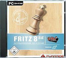 Fritz 8 SE (Software Pyramide) von ak tronic   Game   Zustand gut