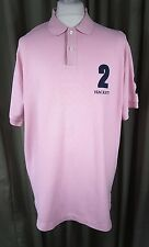 Hackett 100% Cotton Number 2 Pink Polo Shirt XL VGC C46-48