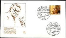 BRD 1987: Ludwig Erhard! FDC der Nummer 1308 mit Bonner Ersttagsstempeln! 1801