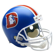 DENVER BRONCOS 75-96 THROWBACK NFL FULL SIZE REPLICA FOOTBALL HELMET