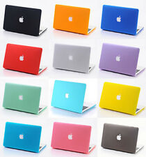 De Goma Laptop Shell Cut-out casos Para Mac Book Macbook De Hard Skin Funda