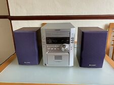 Sharp 3 Disc CD Tape/Radio Micro System & Speakers