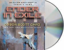 The Ender Quintet: Ender in Exile 5 by Orson Scott Card (2008, CD, Unabridged)
