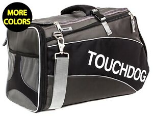 Touchdog Glide Airline Approved Water-Resistant Travel Pet Dog Carrier Bag