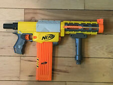 Nerf N-Strike Recon CS-6 Removable Stock Barrel +18 darts & Clip + stand