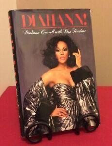 Diahann Carroll Signed & Ross Firestone Autobiography Vintage 1st Ed Hardcover