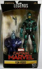 """MARVEL LEGENDS Captain Marvel - Yon-Rogg - BAF - Action Figur - 6"""" / 15 cm"""
