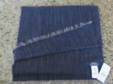 65b912c22b6 Polo RALPH LAUREN Wool Blend Indigo Denim Hue Scarf Made in Italy