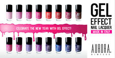 """3 AURORA GEL EFFECTS NEW Nail Polish Lacquer - """"PICK 3 OF YOUR COLORS"""" 0.4oz"""