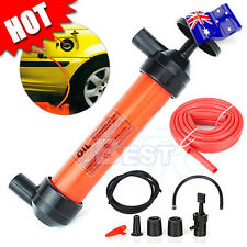 3in1 Siphon Water Car Air Oil Pump Extractor Liquid Fuel Transfer Inflator Hand