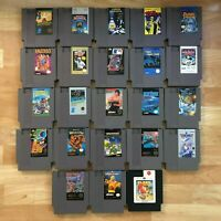 Lot of 23 Nintendo Entertainment System NES Games | Great Condition | Used | C02