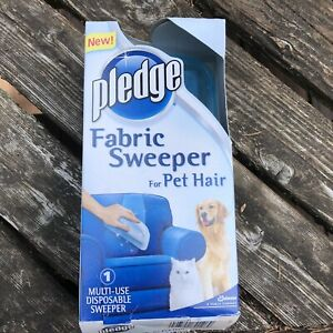 Pledge Fabric Sweeper For Pet Hair-Cat-Dog-Home- MUTI USE - NEW